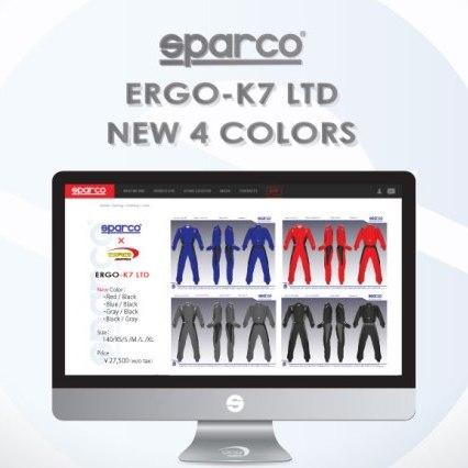 SPARCO ERGO K7 LTD